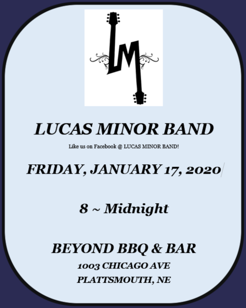 2020 01 15 Lucas Minor Band 1