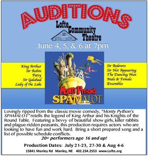 Auditions 500