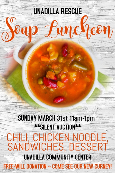 Copy of Soup Kitchen Poster Template Made with PosterMyWall 490
