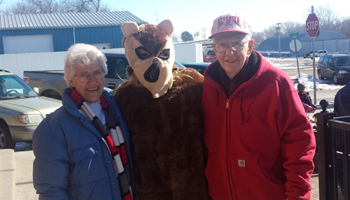 Ghog Mascot_with_Charlie_Martha_Brown_500