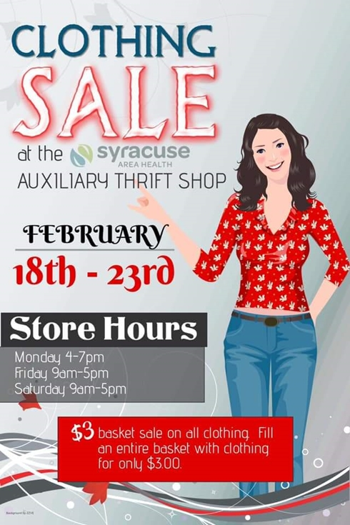 Thrift Shop Clothing Sale 490