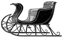 Vintage horse_pulled_sleigh_250